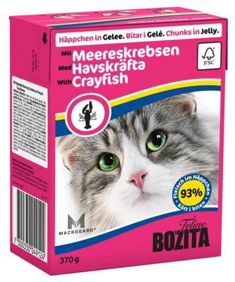 BOZITA Cat Vėžys drebučiuose 370g