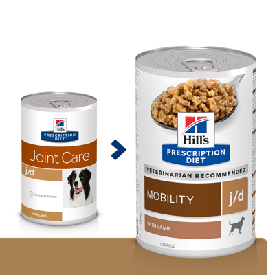 HILL'S PD Prescription Diet Canine j/d su ėriena konservai šunims 370g