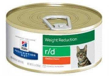 HILL'S PD Prescription Diet Feline r/d 156g skardinė