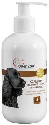 OVER ZOO Šampūnas šunims su juodu ir tamsiu kailiu 250ml