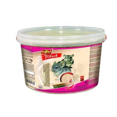 VITAPOL Smėlis šinšiloms 5,1 kg kibiras