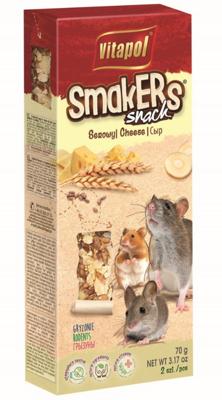 """VITAPOL dribsniai graužikams """"Smakers"""" sūris 2 vnt."""