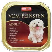 ANIMONDA Dog Vom Feinsten Adult skonis: elniena 150g