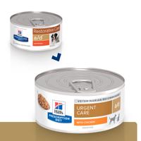 HILL'S PD Prescription Diet Canine Feline a/d With Chicken su vištiena konsėrvai šunims ir katėms 156g